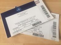 TWO LITTLE MIX TICKETS FOR TOMORROW'S 1PM SHOW AT THE O2 ARENA