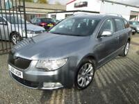 Skoda Superb 2.0 TDI CR 140 SE 5dr 1 OWNER FROM NEW + FULL SERVICE HISTORY (grey) 2010