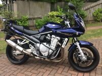 Suzuki GSF 1250 SA K8 bandit S motorbike 2008 **like new**