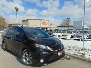2014 Toyota Sienna SE- CAMERA- DUAL DVD-LEATHER- SUNROOF