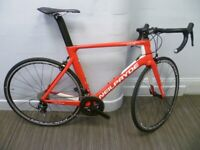 3a550f7ebc3 neilpryde full carbon fibre nazare road racing tt triathlon bicycle 56cm  shimano 105 new red