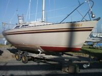"Evolution 26 ""Aurora"". Easy to handle 6 berth fast cruiser/racer, ready to sail now."