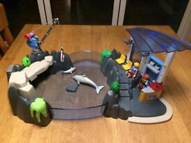 Playmobil dolphin water park,