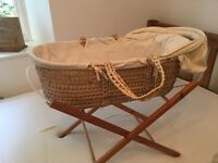 Baby B is for Bear - Moses Basket/Bassinet