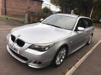 2006 BMW 535D M SPORT TOURING ESTATE FSH VERY FAST AMAZING PRICE AND CAR MAY PART EX