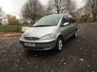 2005 LPG GAS CONVERTED FORD GALAXY GHIA 7 SEATER **LONG MOT + DRIVES VERY GOOD + VERY ECONOMICAL**