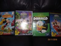 Assorted Mickey Mouse DVDs
