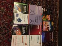 JUST REDUCED 29 revision guides for GCSE in various subjects mainly science and English and Spanish