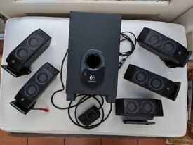 Logitech X540 surround sound speakers - excellent condition