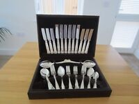 VINERS SILVER PLATED CUTLERY IN CASE