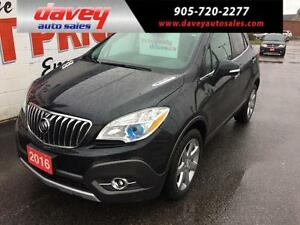 2016 Buick Encore Leather AWD, SUNROOF, NAVIGATION, LEATHER I...