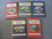 5 x First Thus, Hardback 'Tim' Adventure Books by Edward Ardizzone 2000