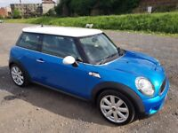 2009 MINI COOPER S 1.6 TURBO CHILLI PACK 3 DOOR HATCHBACK BLUE
