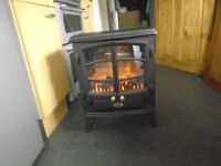 dimplex electric fire hardly used