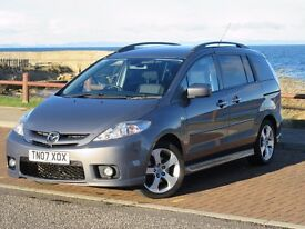 7 Seater Mazda 5 2.0 Furano Low Mileage 1 Owner Full Service History Long MoT