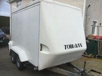 Tow a van trailer,suit dance band,loads of length & height