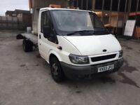 Ford transit 125 bhp 2003 recovery truck excellent runners start and drives 100% perfect