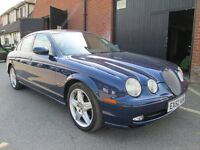 2002 (52) JAGUAR S TYPE AUTOMATIC LEATHER Part exchange available / Credit & Debit cards accepted