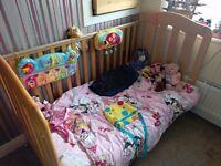 Mamas & Papas Cot / Bed - USED