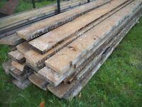 pine beams/boards reclaimed