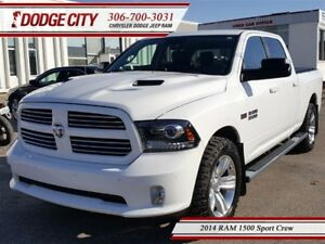 2014 Ram 1500 Sport | Crew | PST PAID - Heated Leather, R.Start