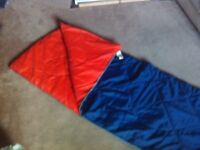 Good condition square style sleeping bag