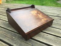 Vintage table top desk - wooden