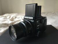 Rare Mamiya RZ67 Pro II D Kit - includes Pro II D body, 65mm F4 floating element lens +120 film back