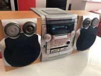 High power multi-CD HiFi system