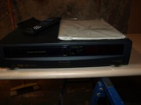 Panasonic Video Cassette Recorder.