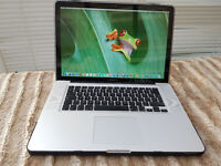 "Apple Macbook Pro 15"" High resolution Screen 1680 x 1050 - Quad Core i7"