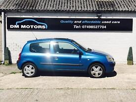 Renault Clio 1.2 Dynamique 2004 IDEAL FIRST CAR!