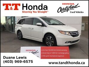 2015 Honda Odyssey Touring  DVD, Navi, Rear Camera, Bluetooth*