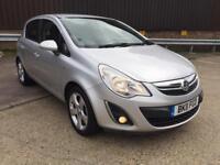 2011 Vauxhall Corsa SXI FaceLift 1.2 Petrol 41k low miles FSH Mint Condition MOT Drives Great