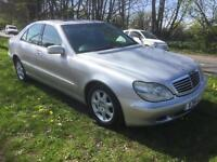 2001 Mercedes S320 cdi Fully loaded 1 years MOT mint condition