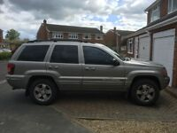 Grand Cherokee Jeep. spares or repair