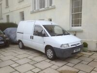 Fiat Scudo Van Diesel 3 Seater with Towbar and electric Bargain