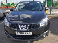 NISSAN QASHQAI ACENTA + 2 ,,1.6,,, 7 SEATER £3900 call on 07969282764
