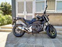 2013 Honda NC 700S C-ABS motorcycle. Black. 15,200 miles. 12 Months MOT. FSH. P/X swap possible