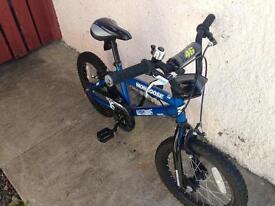 Mongoose 16 moto bike 5-8 yrs