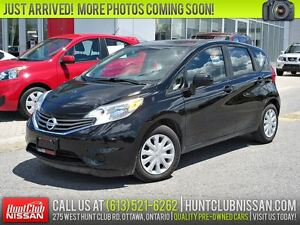 2014 Nissan Versa Note 1.6 SV Conv. | Rear Camera, Bluetooth, Cr