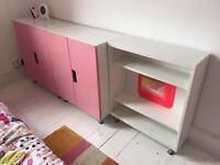 IKEA STUVA storage cabinets