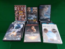 A MIXED PACK OF 21 DVD's