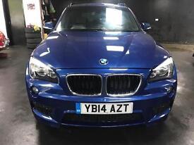 """BMW X1 2.0 d x DRIVE M SPORT BLACK LEATHER SEATS 18"""" ALLOYS"""