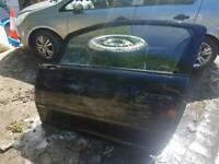 Vauxhall Corsa D 3 door - passenger side door in Black 20R