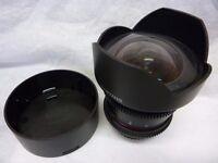 CANON FULL FRAME 14mm lens