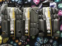 3 pair of snickers knee pads