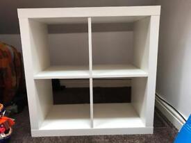 White Ikea Storage Cube
