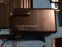 Audio-technica wireless tie mic microphone