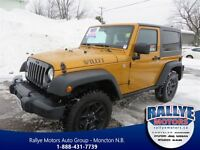 2014 Jeep Wrangler Willy's! AC! Bluetooth! Clean CP!